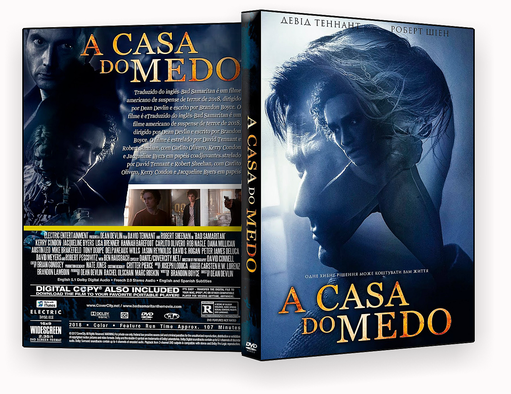 CAPA DVD – A Casa Do Medo DVD-R