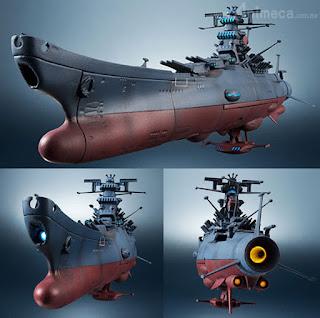 Figura Space Battleship Yamato 1/2000 Kikantaizen