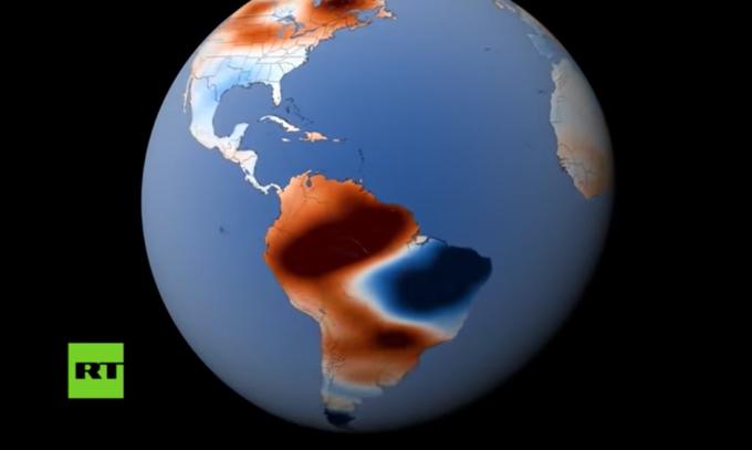 La NASA detecta cambios en el agua dulce de la Tierra