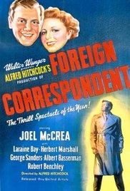 Watch Foreign Correspondent Online Free 1940 Putlocker