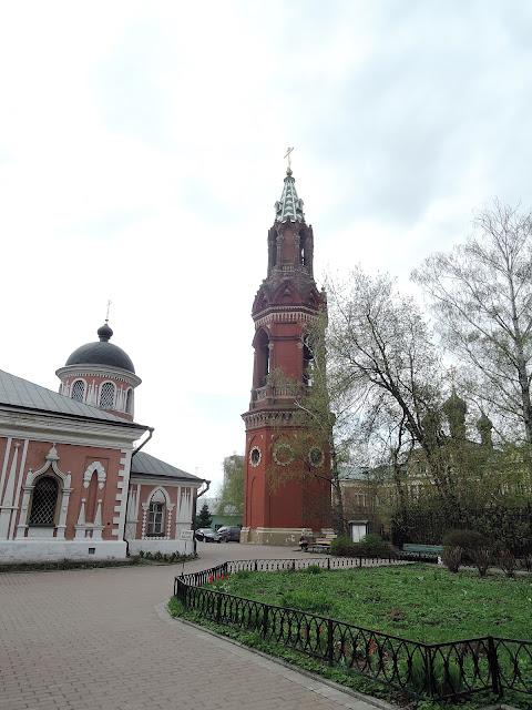 Храм Святителя Николая на Преображенке колокольня