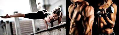 Calistenia vs pesas masa muscular mujer hombre