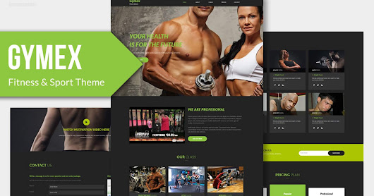 Gymex - Fitness, & Sport Muse Theme