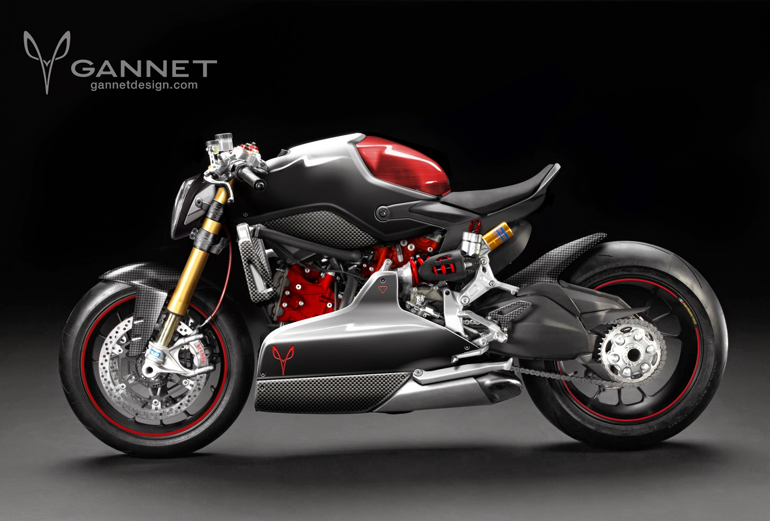Racing Caf Design Corner Ducati 1199 Panigale Fighter By Custom Auto Wiring Accessories Gannet