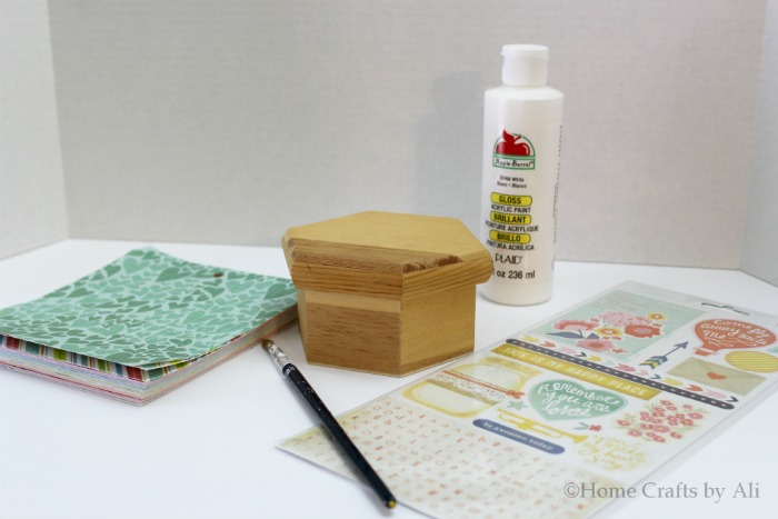 Simple Love Notes Box Home Crafts By Ali With Supplies Needed To Paint A Room