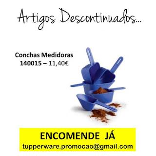 140015 - Conchas Medidoras Tupperware