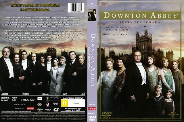 Capa DVD Downton Abbey Sexta Temporada