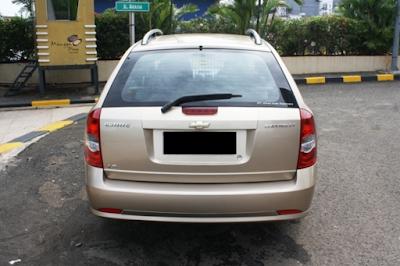 Eksterior Chevrolet Estate / Estate Magnum Tampak Belakang
