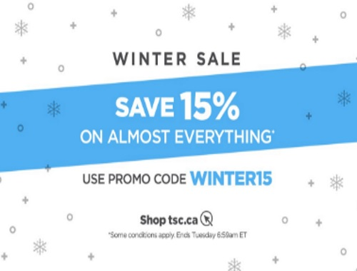 The Shopping Channel Winter Sale Extra 15% Off Promo Code