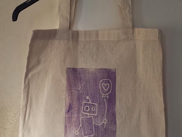 Styrofoam Print Canvas Bags