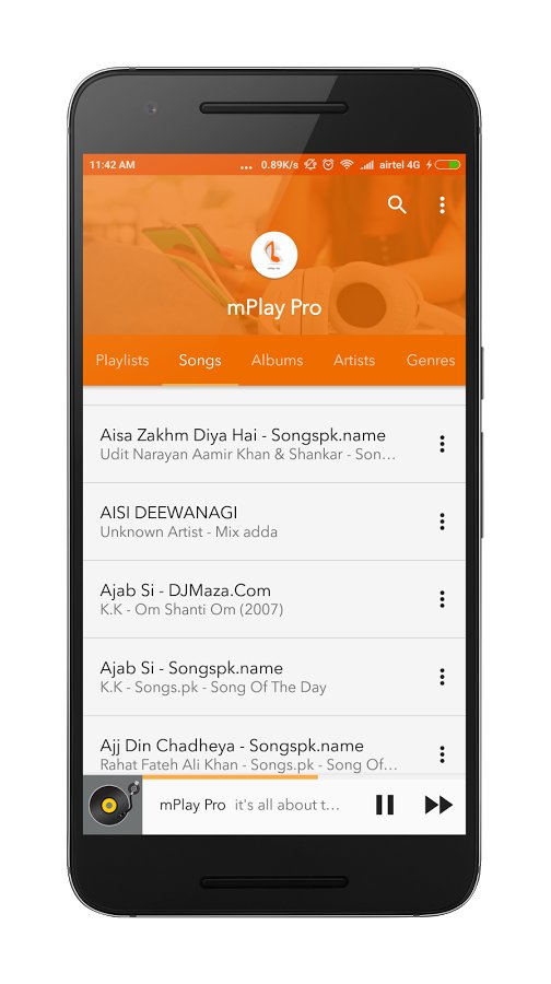 Music Player mPlay Pro APK [Free Download] | Android Games