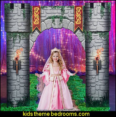 Fantasy Knights Castle Entrance knights princess party props