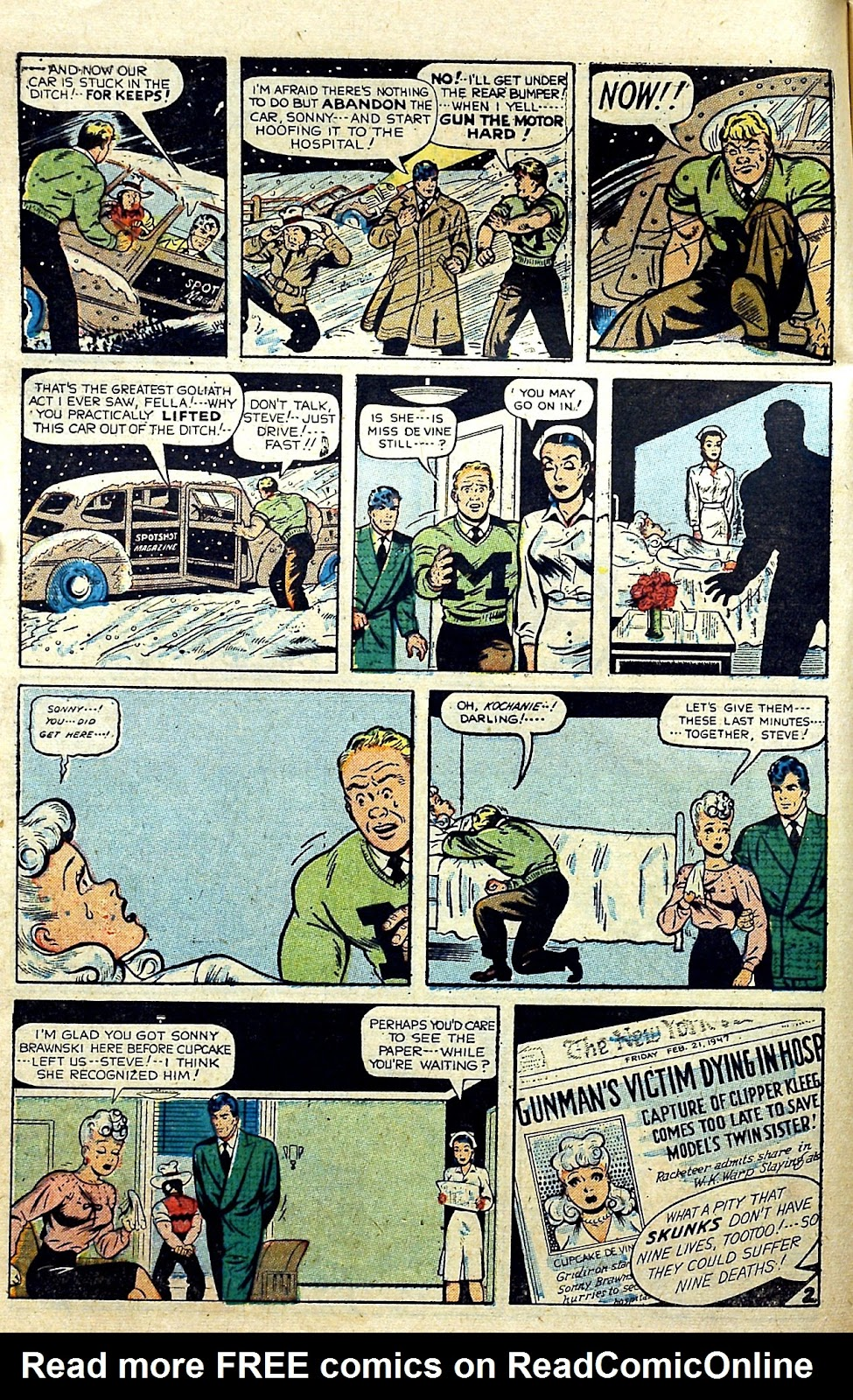 Read online Famous Funnies comic -  Issue #187 - 10