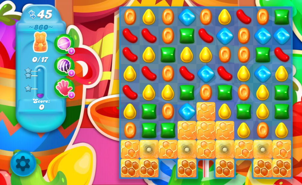 Candy Crush Soda saga Saga 860