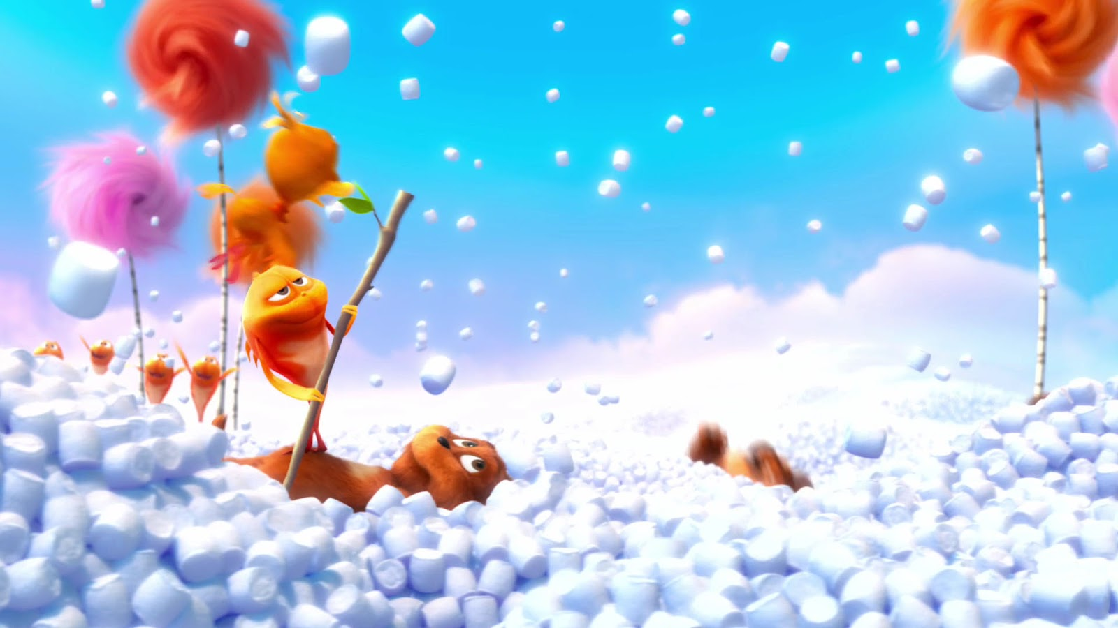 Cartoon wallpaper - Dr. Seuss The Lorax Movie Wallpaper 4 ...