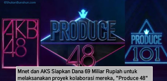 Produce 48 Logo Poster 101 AKB48 Group Hasil
