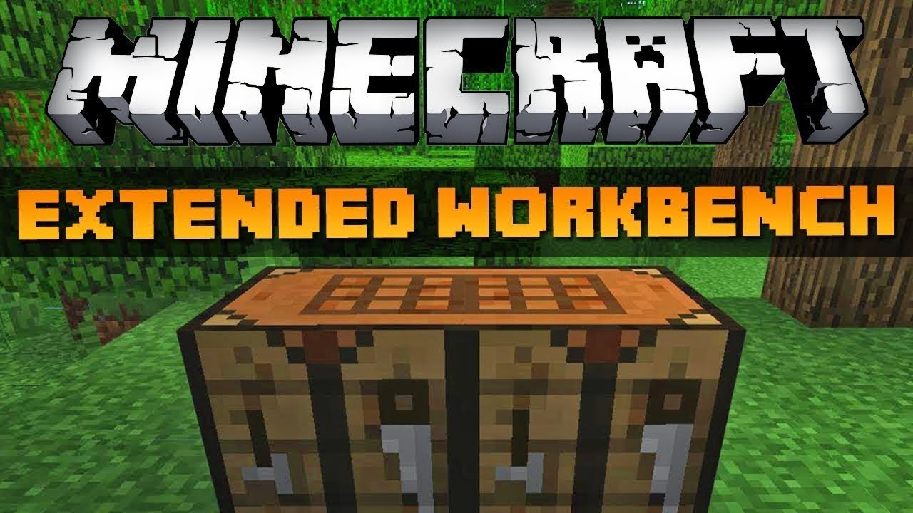 Extended Workbench Mod 1.10.2