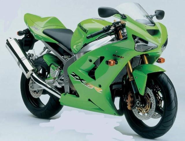 Kawasaki Ninja ZX-6R 2000s Japanese sports bike