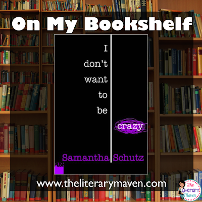 In I Don't Want To Be Crazy, author Samantha Schultz recounts her struggles with anxiety disorder while trying to navigate the newly found freedoms of college life. Written in verse, this memoir makes the experience of having a panic attack almost tangible for the reader. Read on for more of my review and ideas for classroom application.