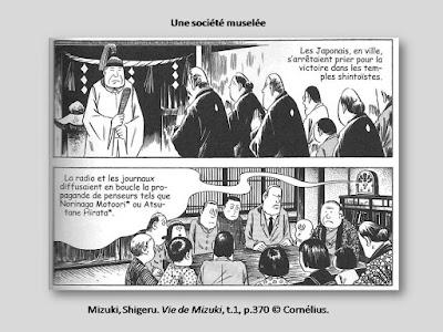 Mizuki, Shigeru. Vie de Mizuki, t.1, p. 370 © Cornélius.