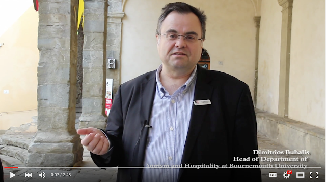 Dimitrios Buhalis on Accessible Tourism and Technology https://youtu.be/tx_njTKTK-M