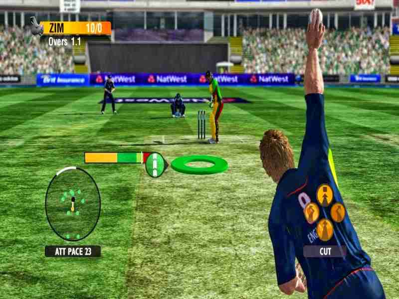 pc games free  full version for windows xp 2012 cricket