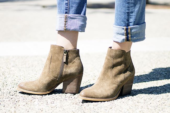 Nordstrom Treasure&Bond Winsor Booties