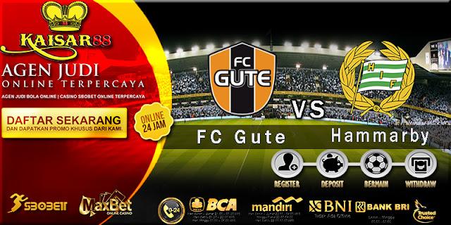 Prediksi Bola Jitu FC Gute vs Hammarby 4 Juli 2018