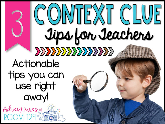 Context Clue Strategies for Elementary Teachers
