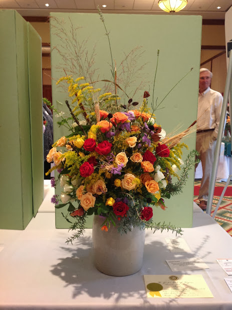 Garden Club Journal Creative Mass Rose Design