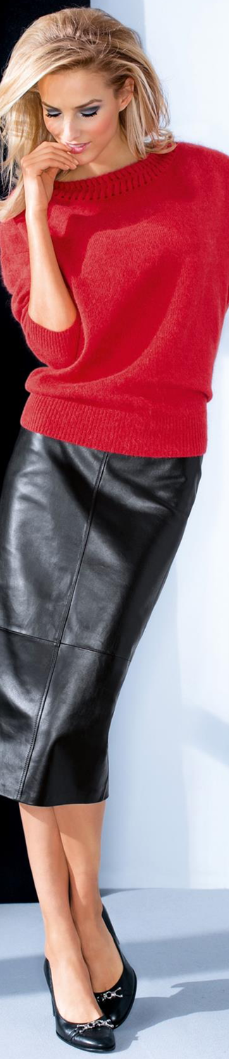 MADELEINE Leather Skirt
