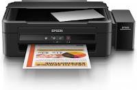 Imagem da impressora Epson L222 Driver Baixar para Windows, Mac, Linux