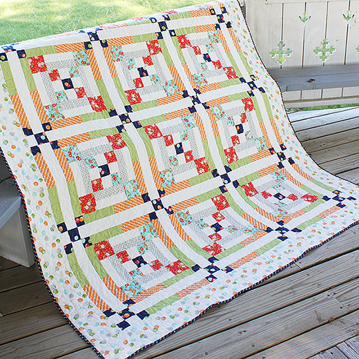 Clearly Complementary Quilt Free Pattern