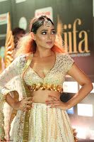 Apoorva Spicy Pics in Cream Deep Neck Choli Ghagra WOW at IIFA Utsavam Awards 2017 109.JPG