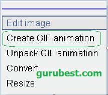 how to make animated gif using mobile phone