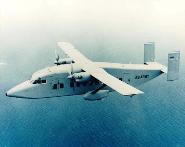 Gambar 44. Foto Pesawat Angkut Militer Short C-23 Sherpa