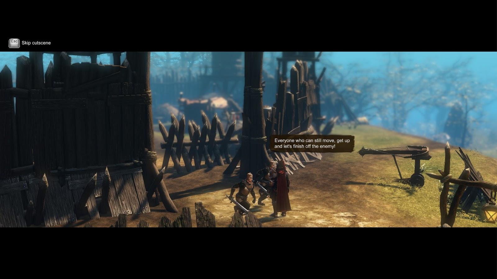 Guardians Of Ember cutscene
