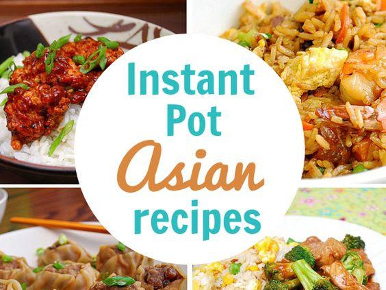Instant Pot: Our Favorite Asian Recipes!