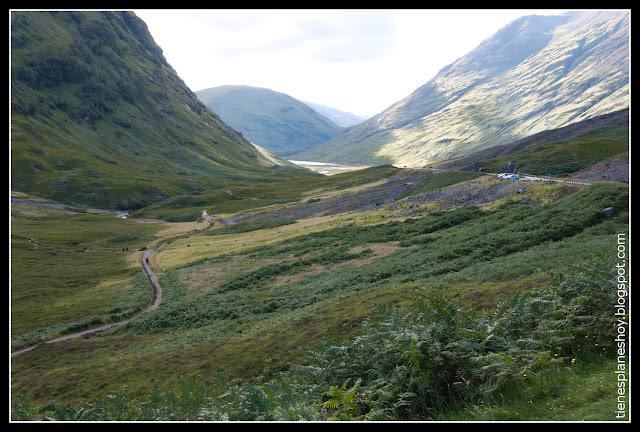 Cañada Glencoe (Escocia)