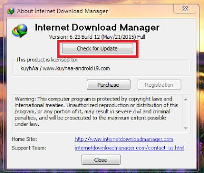 Cara Update IDM Ke Versi Terbaru