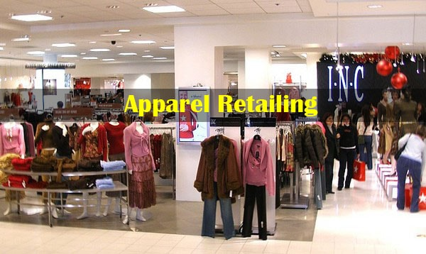 Apparel retail store
