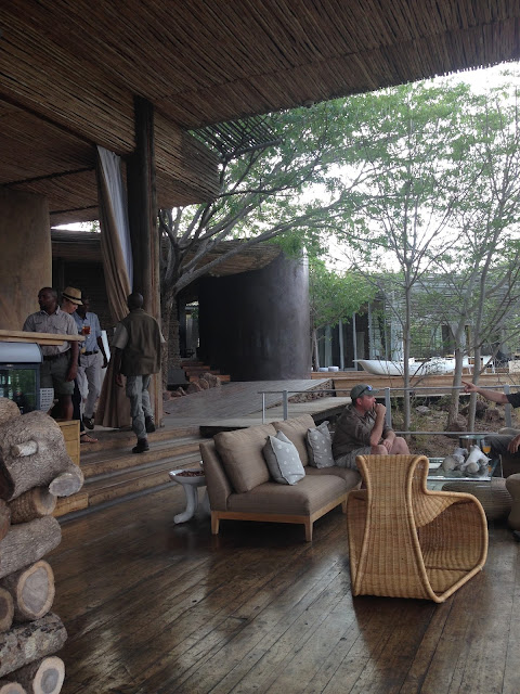 singita, game drive, getting ready, lebombo lodge main lodge area