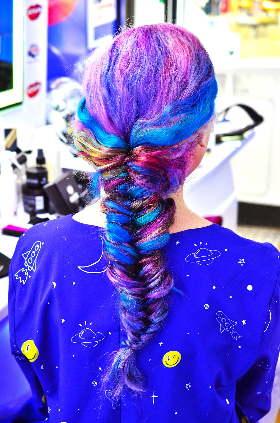 mermaid fishtail braid stephi lareine