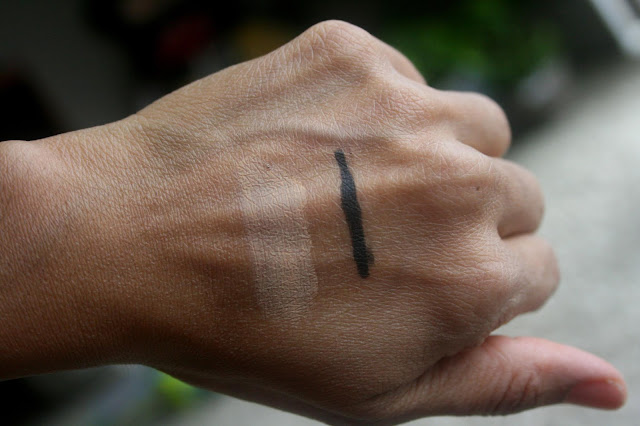 Kat Von D Cake Eye Pencil In Trooper and Lock-It Powder Foundation In Medium 155