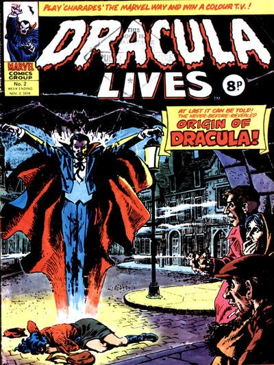 Dracula Lives #2, Marvel UK