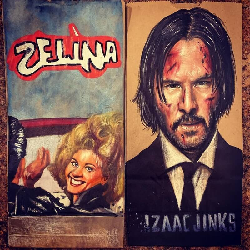 01-Grease-John-Wick-L-Jinks-Brown-Bag-Art-Father-and-Drawings-for-Children-www-designstack-co