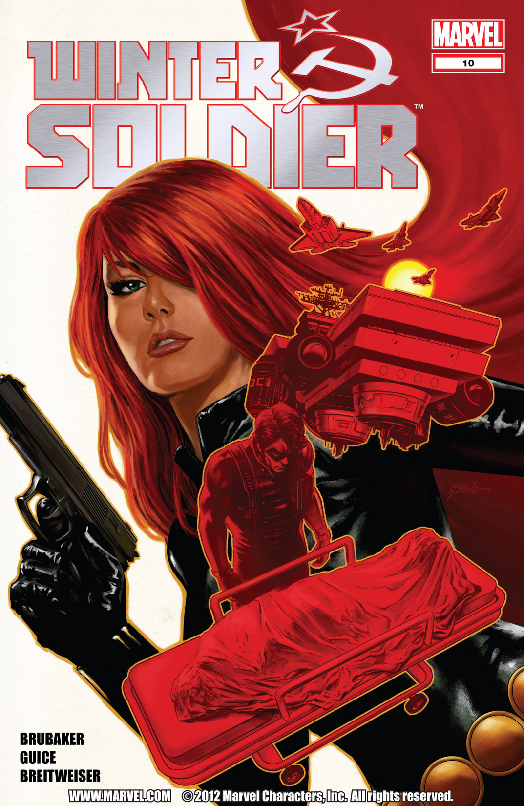 Comic Winter Soldier issue 10