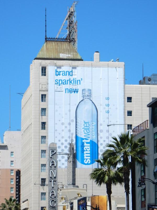 Brand sparkling new Smartwater billboard