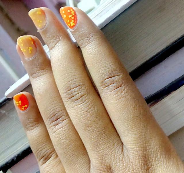 Colorbar Nail Laquer in 22 Orange Pop
