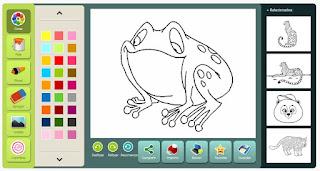 http://animais.colorir.com/a-selva/sapo.html